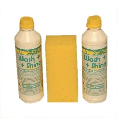 Wash and Shine 2x 500 ml + spons